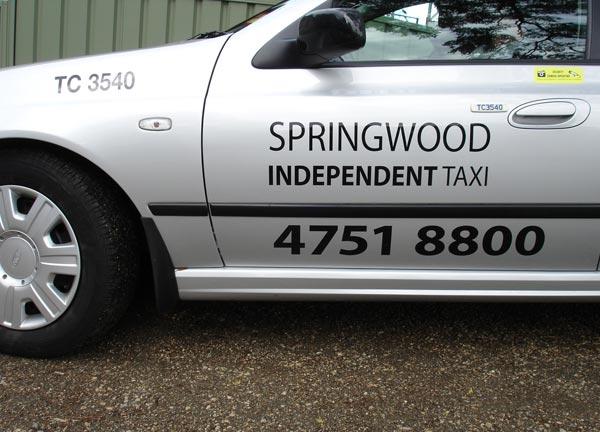 Springwood Independent Taxi