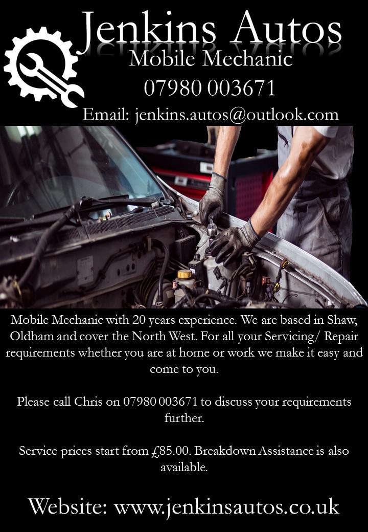 Jenkins Autos Ltd - Oldham, Lancashire OL2 8HP - 07980 003671 | ShowMeLocal.com
