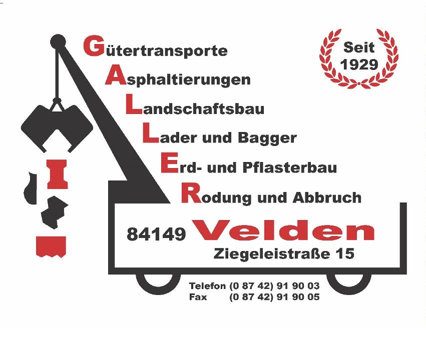 Bild zu Galler Pflasterbau- u. Erdbaubetrieb e. K. in Velden an der Vils