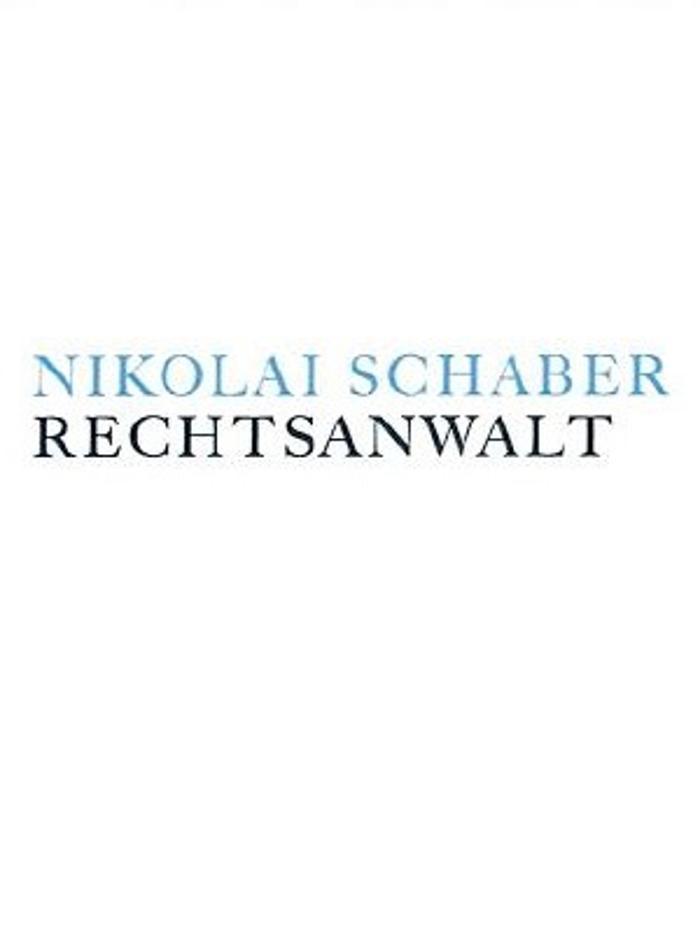 Bild zu Nikolai Schaber Rechtsanwalt in Stuttgart