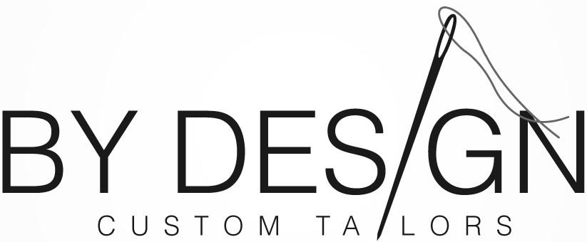 BY DESIGN CUSTOM TAILORS Logo
