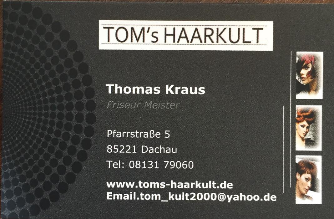 Bild zu Tom`s Haarkult in Dachau