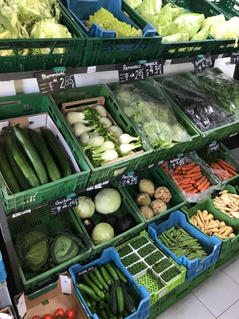 Spargelhof, Obst, Gemüse und Südfrüchte Sans