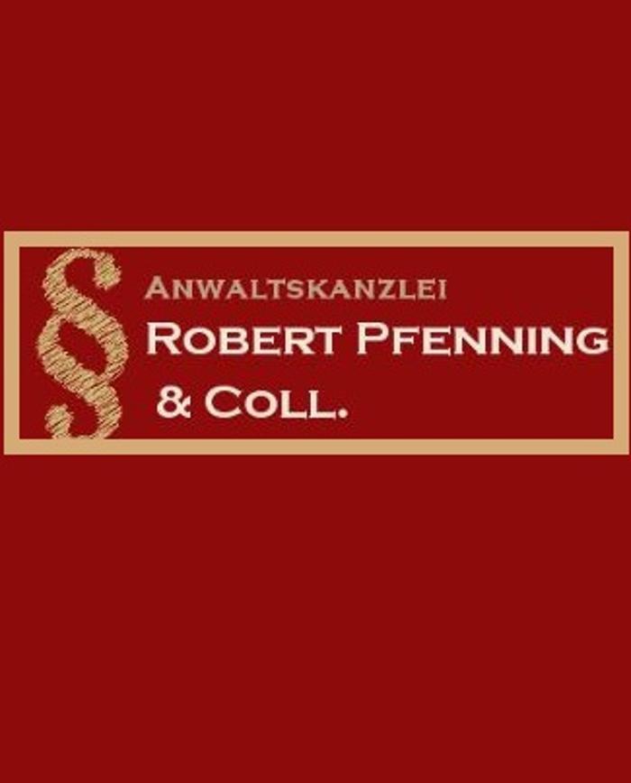 Bild zu Kontakt Anwaltskanzlei Robert Pfenning & Coll. in Stuttgart