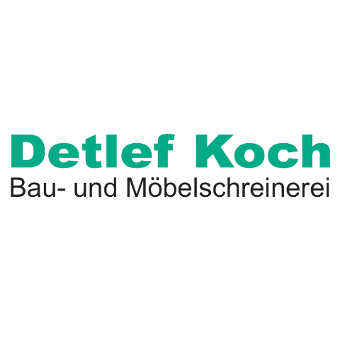 Logo von Detlef Koch Bau- u. Möbelschreinerei