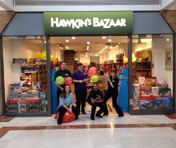 Hawkin's Bazaar Cambridge