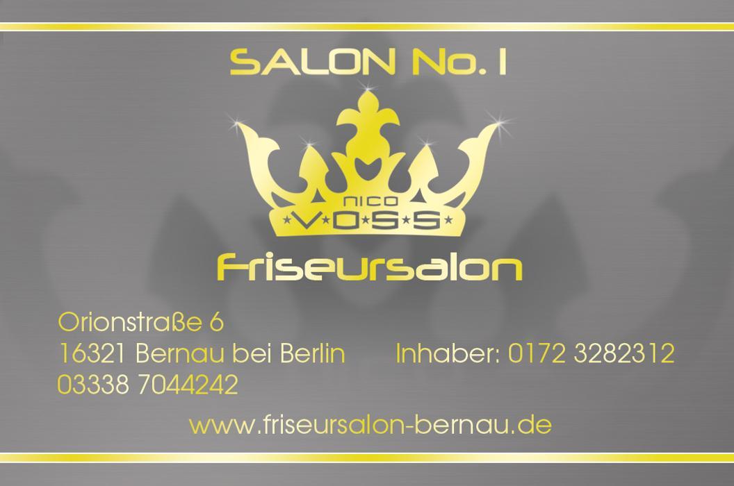 Bild zu Salon No.1 - Nico Voss c/o HauptstadtFussel in Bernau bei Berlin