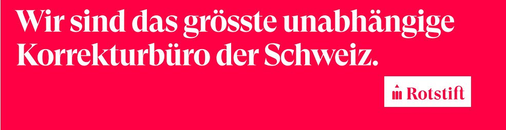 Rotstift AG