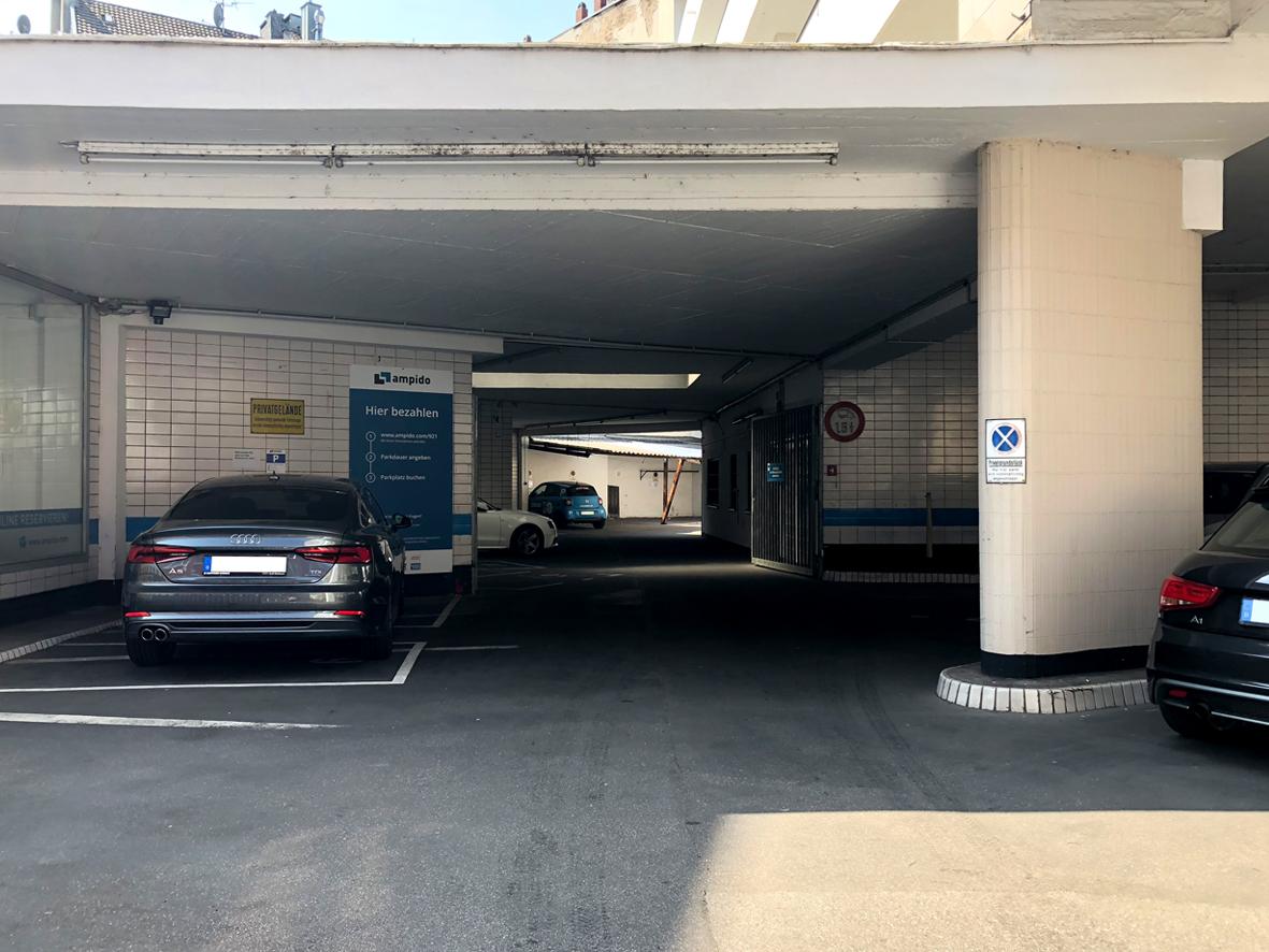 ampido Parkplatz Belgisches Viertel