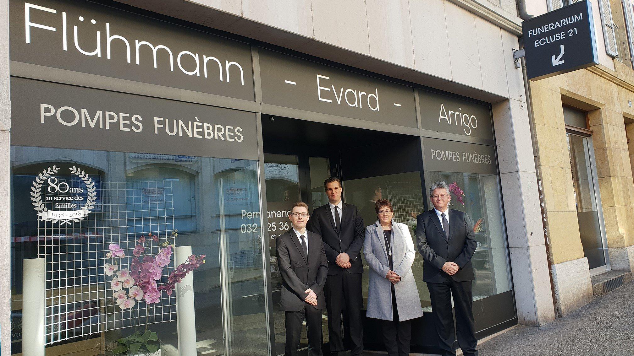 Pompes Funèbres Flühmann-Evard-Arrigo SA Funérarium