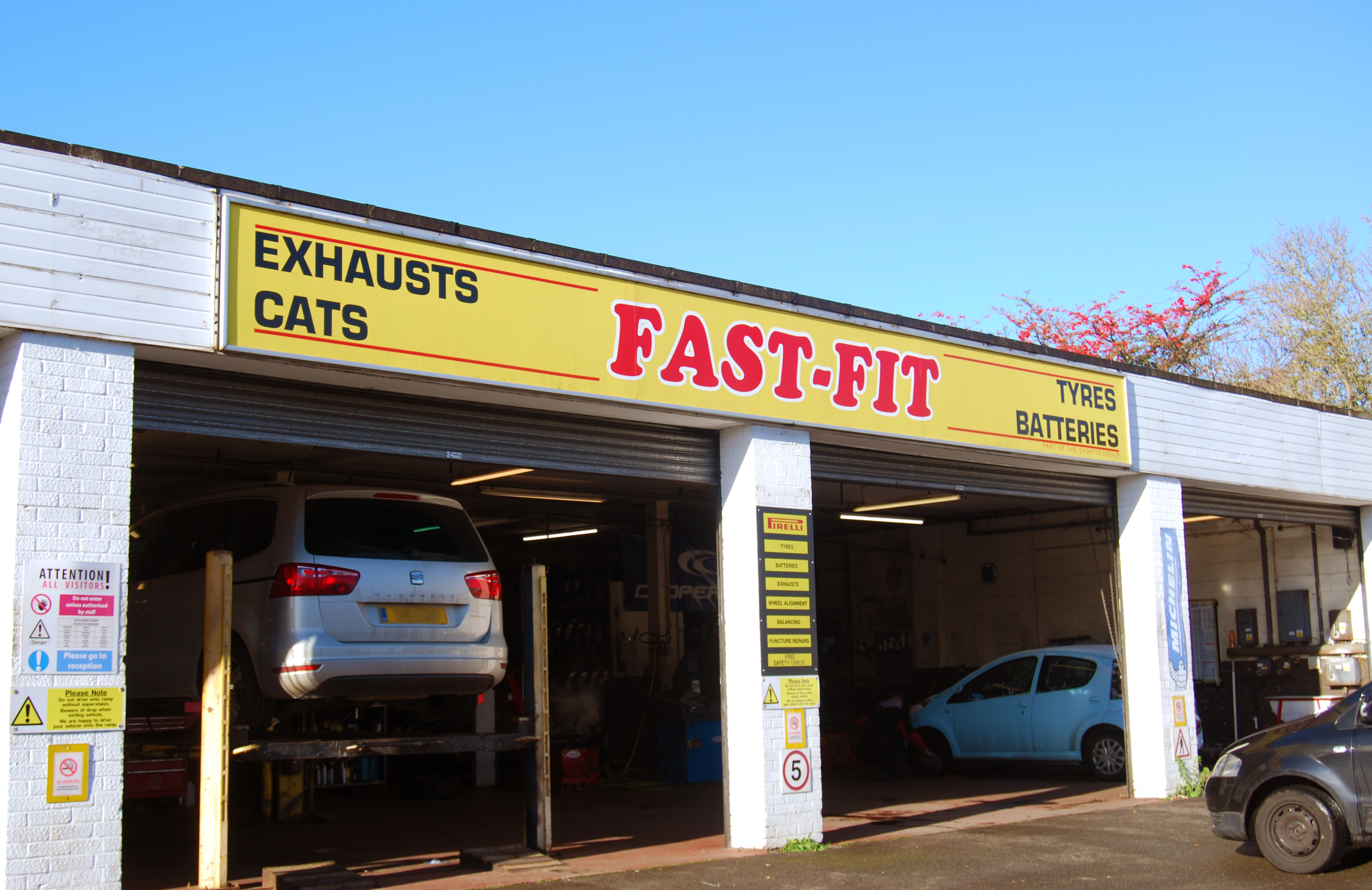 Fast-Fit Tyres & Exhausts - Ipswich, Suffolk IP1 5DW - 01473 748411 | ShowMeLocal.com