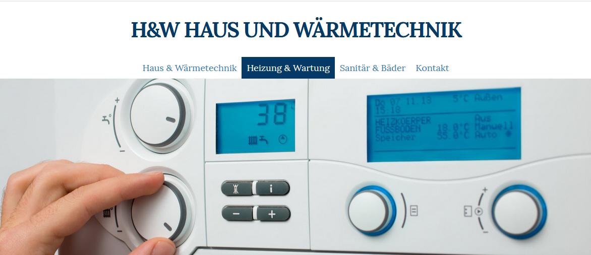 H & W Haus & Wärmetechnik Ralf Herweck