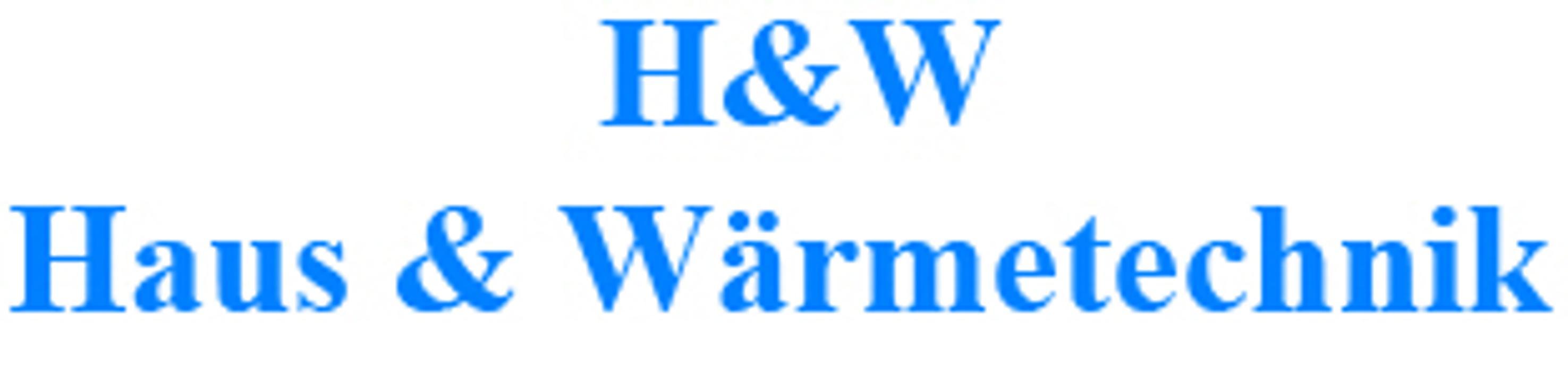 Bild zu H & W Haus & Wärmetechnik Ralf Herweck in Mannheim