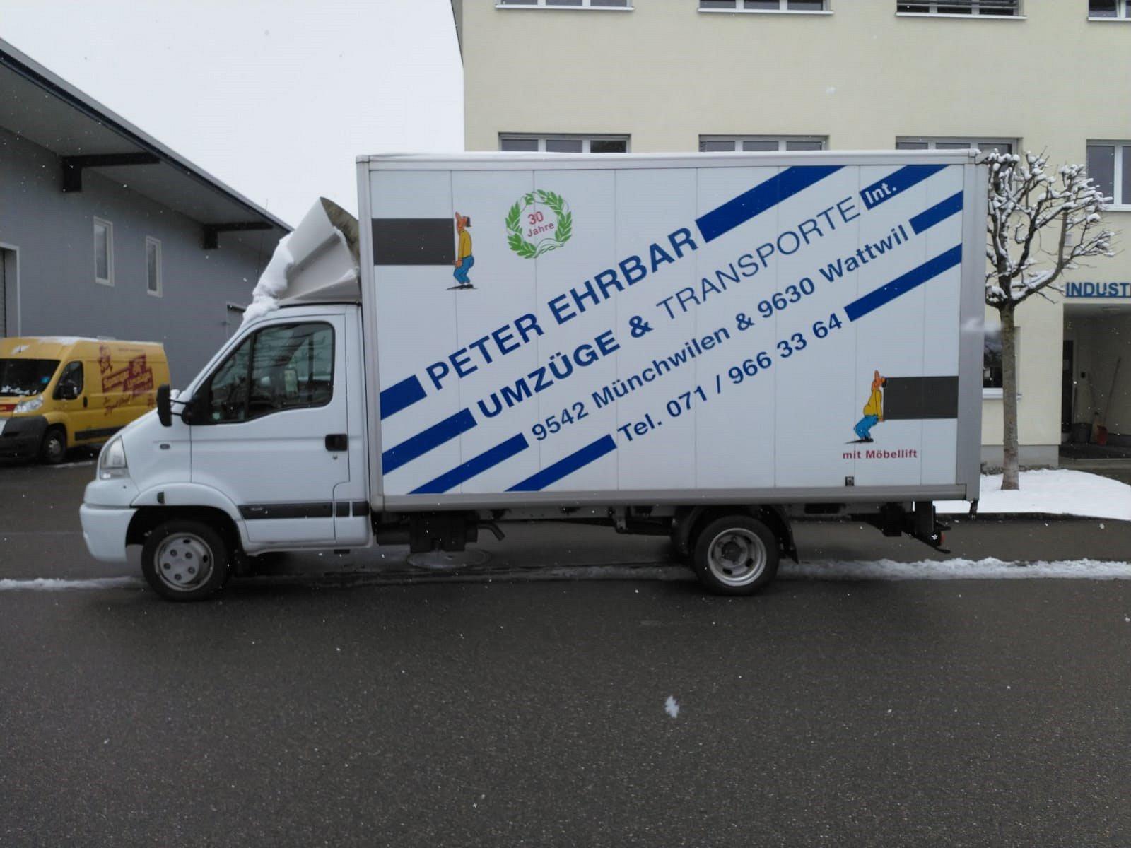 Ehrbar Umzüge - Unternehmen der Firma Sprenger Transporte AG
