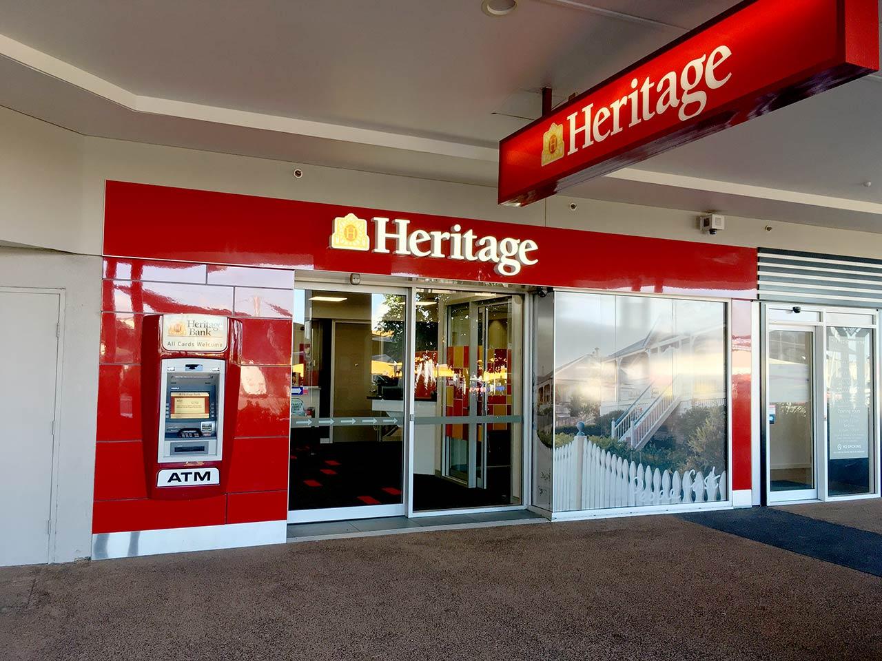 Heritage Bank - Hervey Bay, QLD 4655 - (07) 4124 2899   ShowMeLocal.com