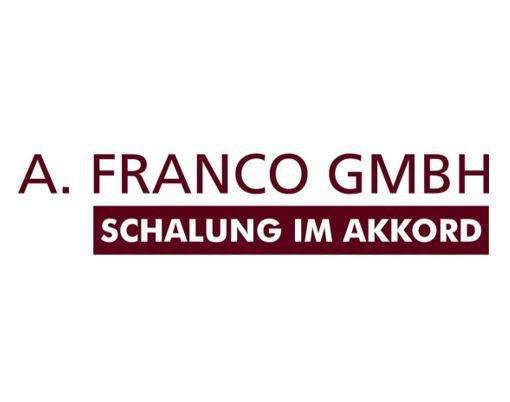 A. FRANCO GmbH Schalung im Akkord