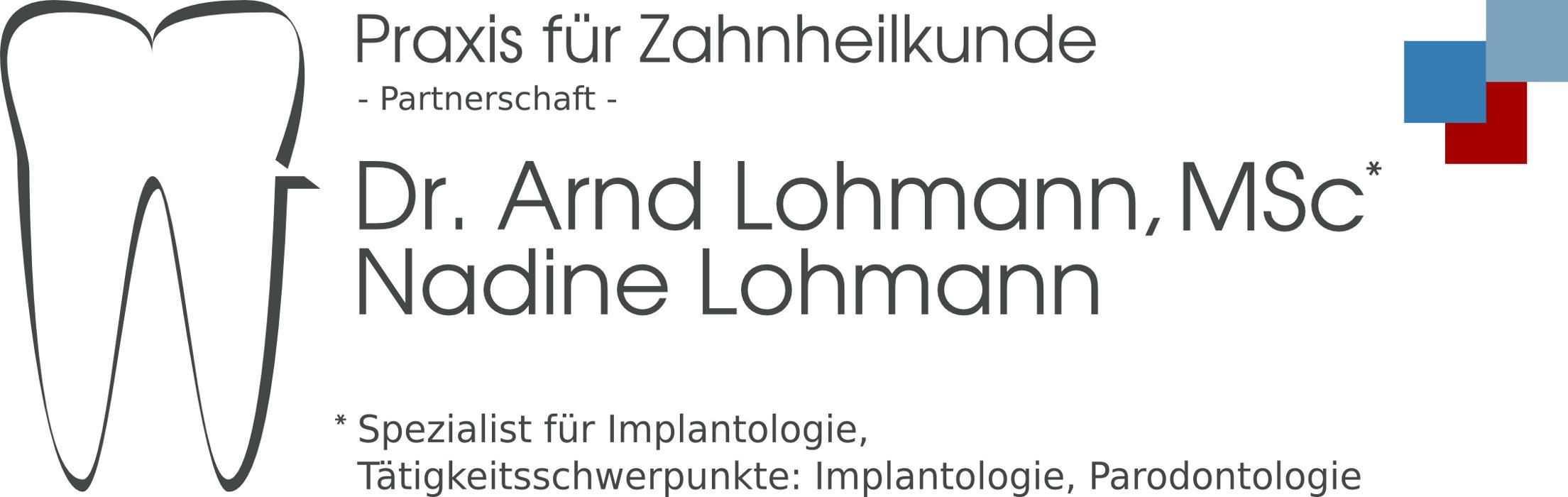 Bild zu Praxis für Zahnheilkunde Dr. Arnd Lohmann, MSc Nadine Lohmann in Bremen