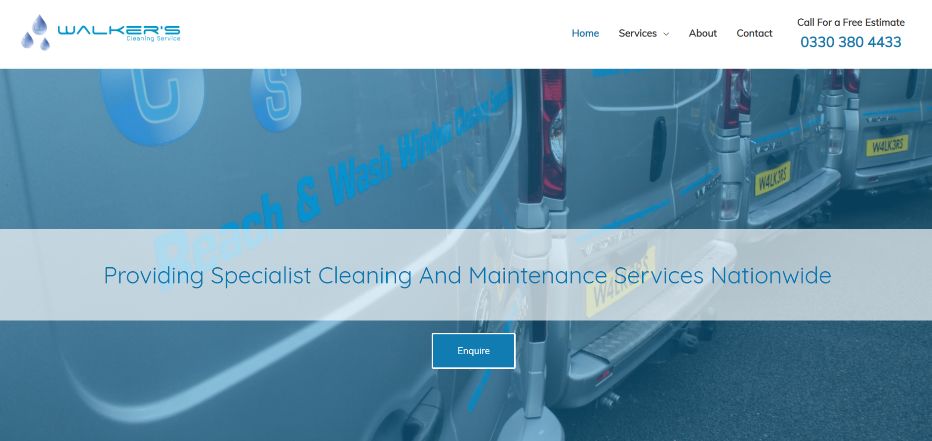 Walkers Cleaning Services - Romford, London RM1 3QA - 03303 804433 | ShowMeLocal.com