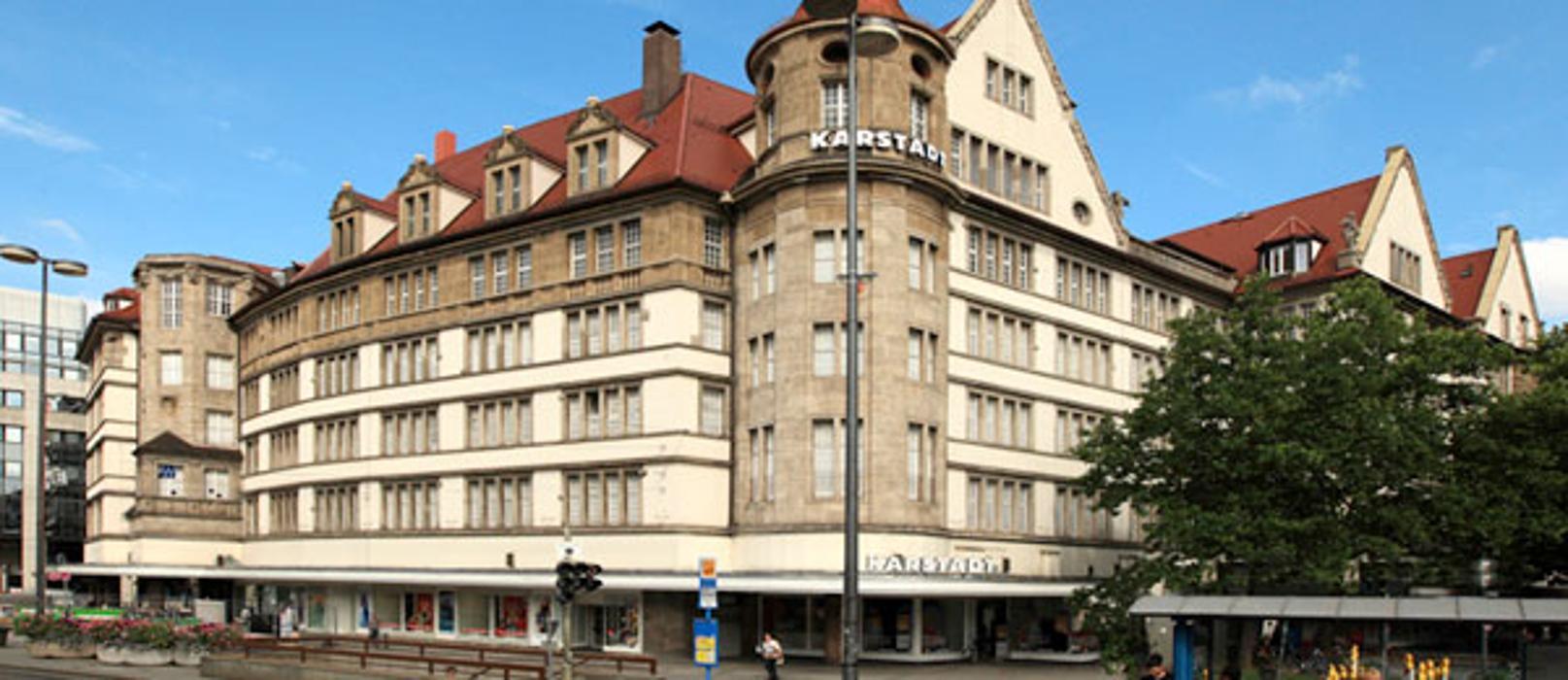 Karstadt München Bahnhofplatz, Bahnhofplatz in München
