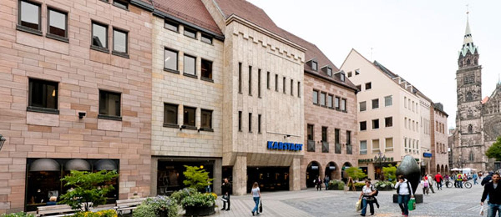 GALERIA (Karstadt) Nürnberg An der Lorenzkirche, Königstraße in Nürnberg