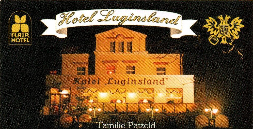 Flair-Hotel Luginsland & Restaurant Schleiz