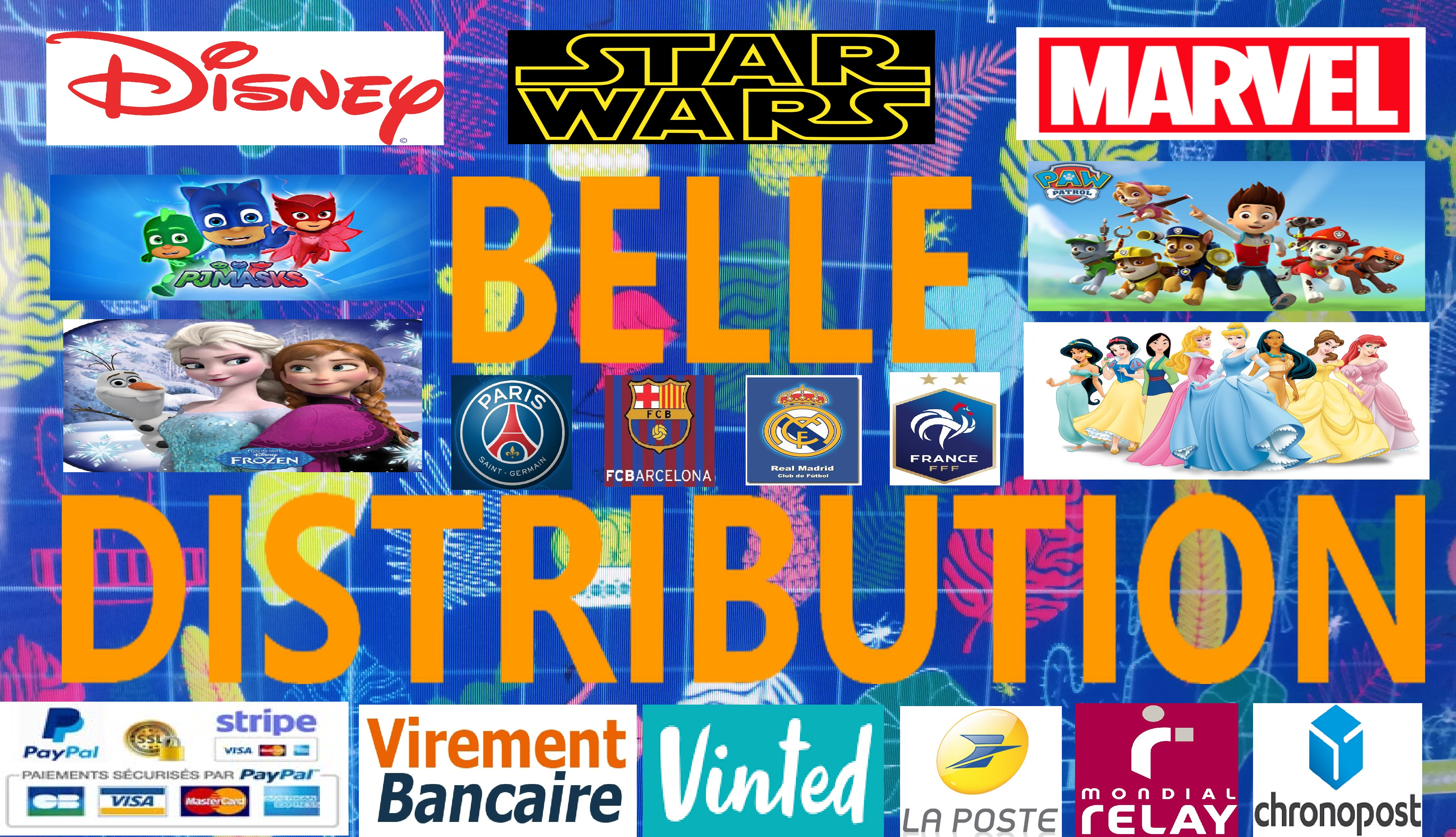 Belle Distribution