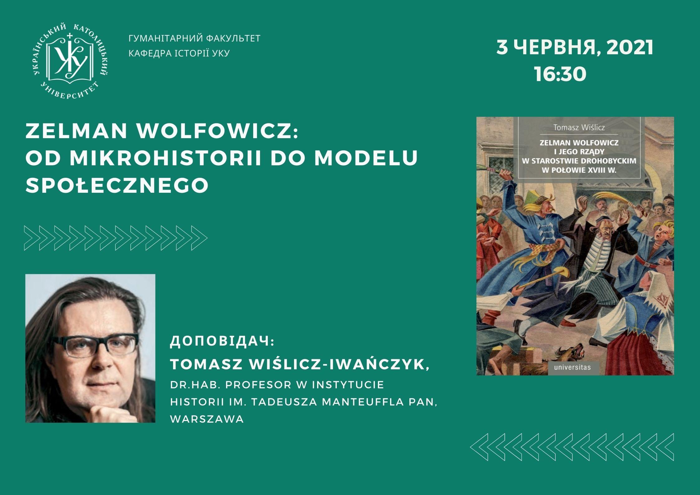 Zelman Wolfowicz: od mikrohistorii do modelu społecznego
