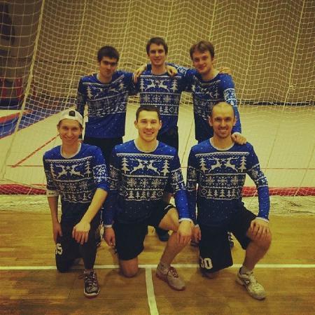 Леонид Туманов на турнире Рождественский турнир 2014