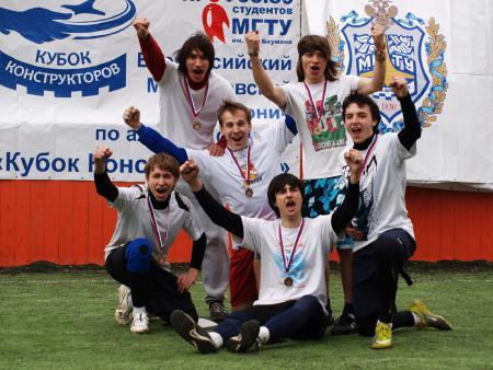Леонид Туманов на турнире Кубок Конструкторов 2011