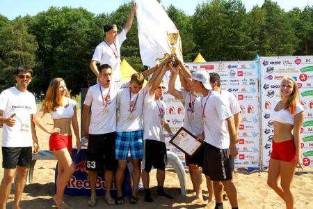 Леонид Туманов на турнире Beach Games 2014