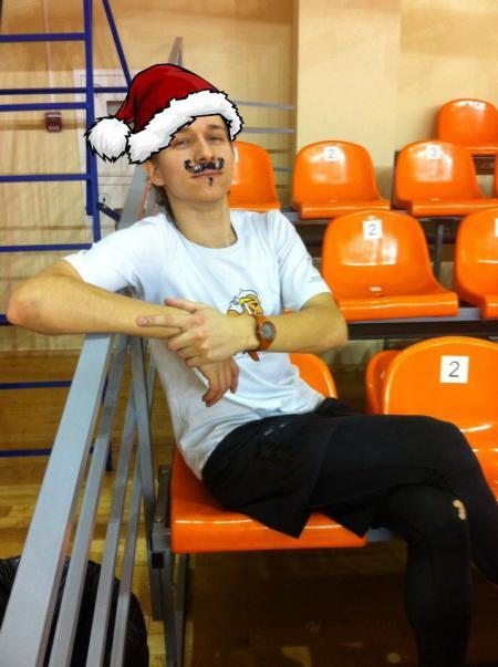 Леонид Туманов на турнире Новогодняя шляпа 2016
