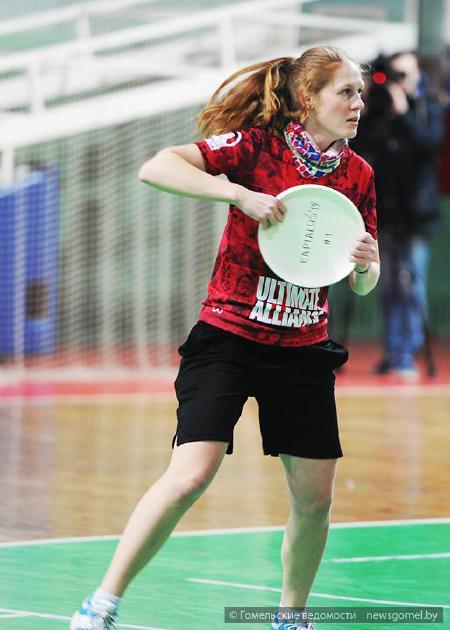 Ольга Воронцова на турнире Капялюш 2015