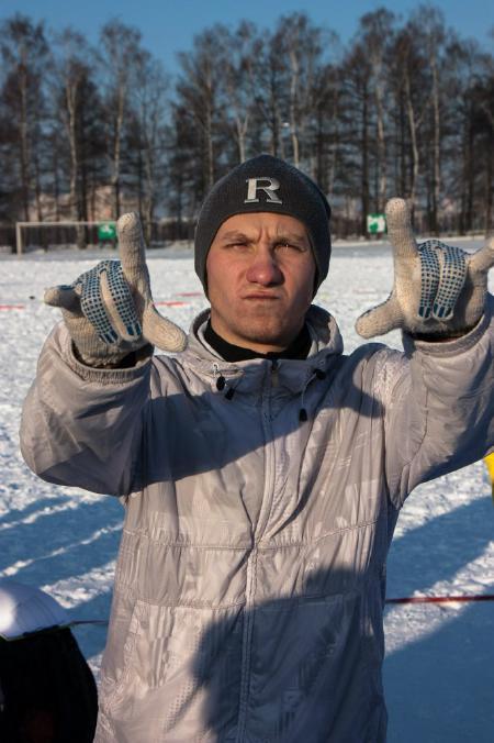 Рустам Хусяинов на турнире По уши в снегу #1