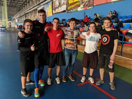 Андрей Чулий на турнире Adrenalin Ultimate Cup 2019