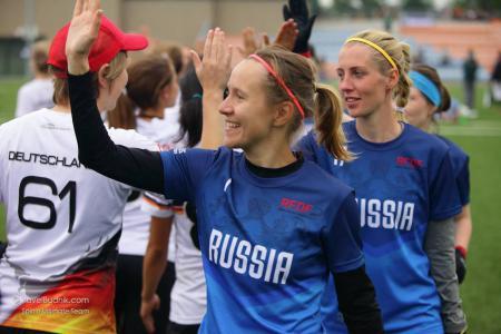 Ксения Шевнина на турнире Windmill Windup 2015