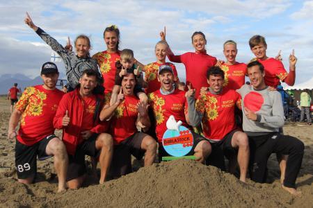 Ксения Шевнина на турнире Burla Beach Cup 2016