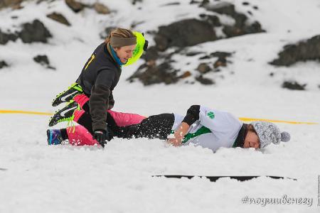 Ксения Шевнина на турнире По уши в снегу #2