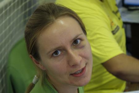 Ксения Шевнина на турнире СМАРТ 2011
