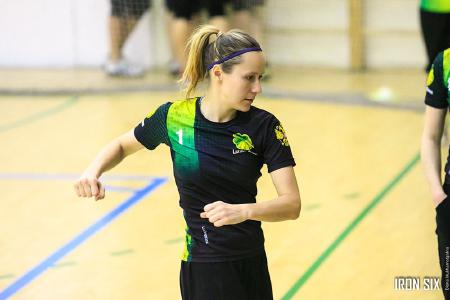 Ксения Шевнина на турнире Женская лига| IRONSIX | ЦР-2