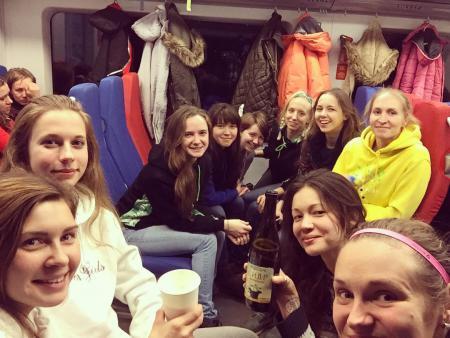 Сабина Сильчонок на турнире Женская лига | IRONSIX | СЗ-1