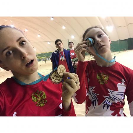 Сабина Сильчонок на турнире Hat Trick 2018