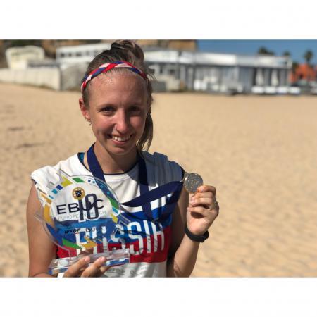 Сабина Сильчонок на турнире EBUC 2019