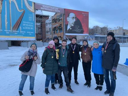 Сабина Сильчонок на турнире Свой микст