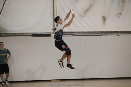 Никита Зетилов на турнире Миксомания 2016