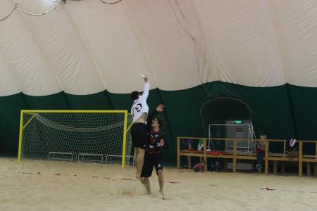 Никита Зетилов на турнире Песок в усах 2017