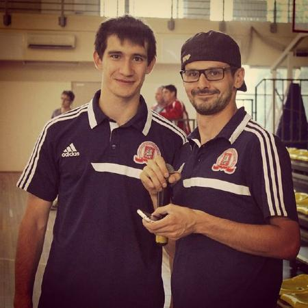 Николай Бабенков на турнире Moscow Elite Ultimate 2014
