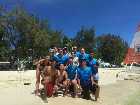 Павел Дмитриев на турнире Boracay Open 2017