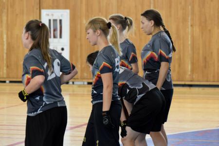 Екатерина Барабанова на турнире Женская лига ЦР-2