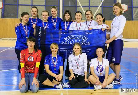Екатерина Барабанова на турнире Женская лига | IRONSIX | финал
