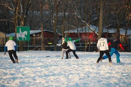 Екатерина Барабанова на турнире По уши в снегу #1